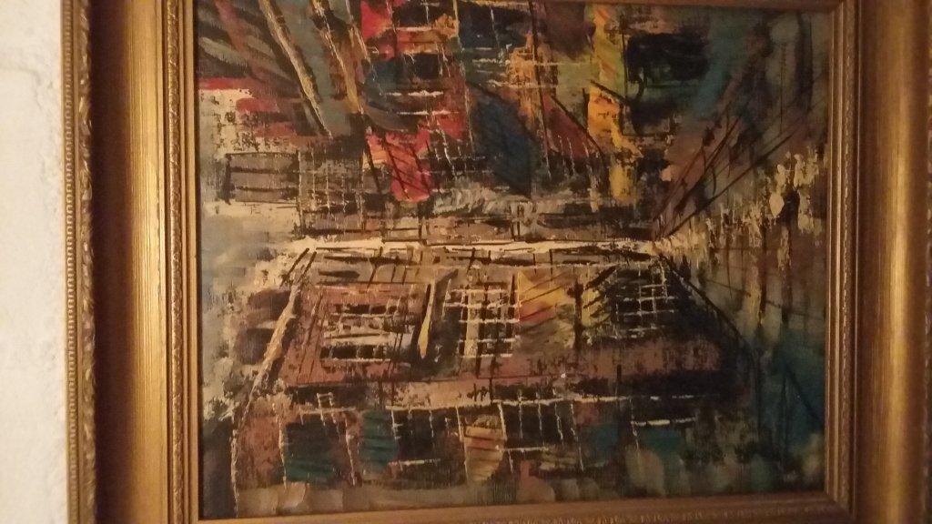 De schilder van dit schilderij en signatuur for Schilder en behanger gezocht