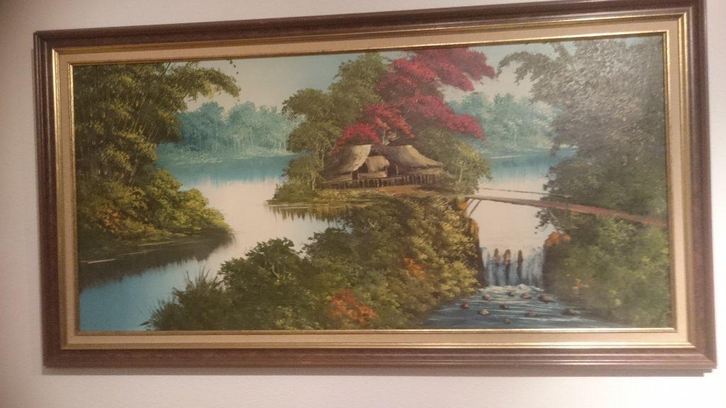 Wie is de schilder en wat te doen tegen uitdrogen - Decoratie schilderij gang ...
