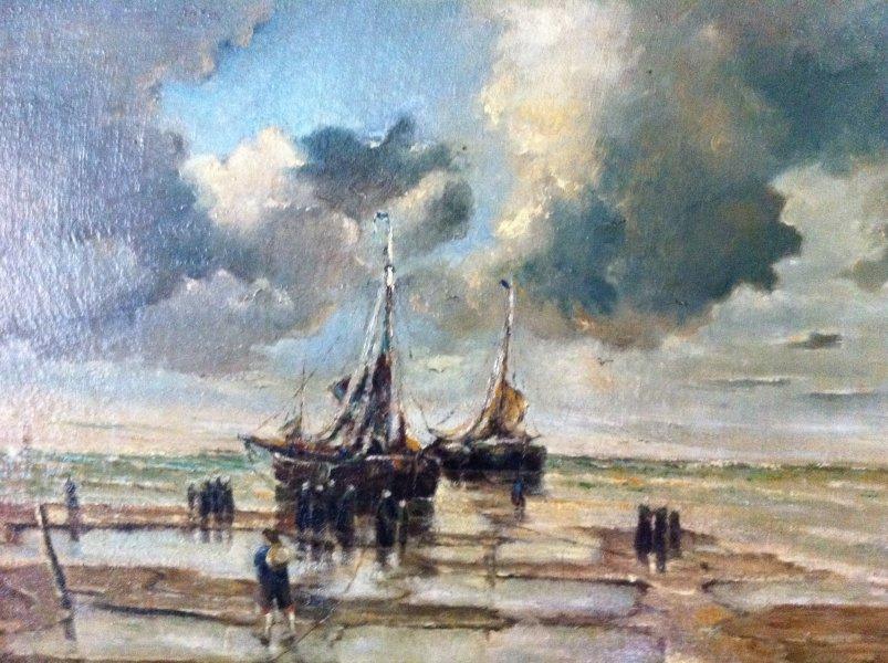 Wie kent dit schilderij en schilder for Schilder en behanger gezocht
