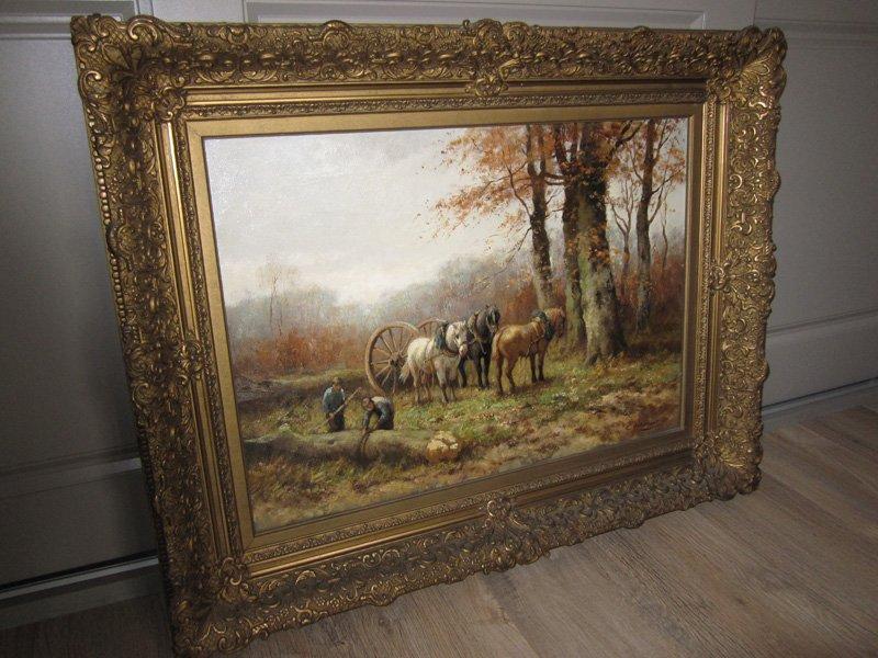 hollandse schilderijen te koop gevraagd