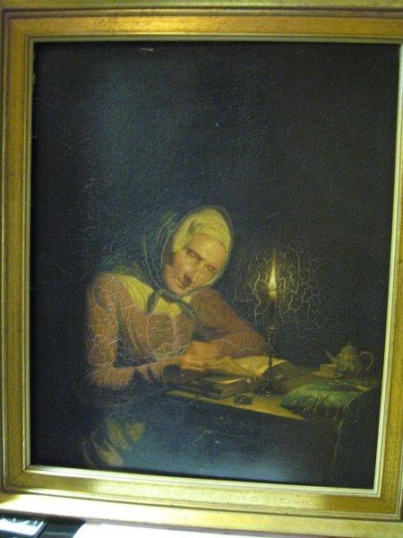 negentiende eeuw landschap schilderij