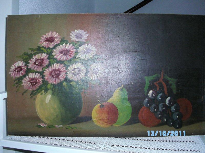 Wie kent dit schilderij en de schilder ervan for Schilder en behanger gezocht