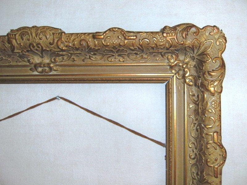 Verwonderend Oude schilderij lijst GX-26