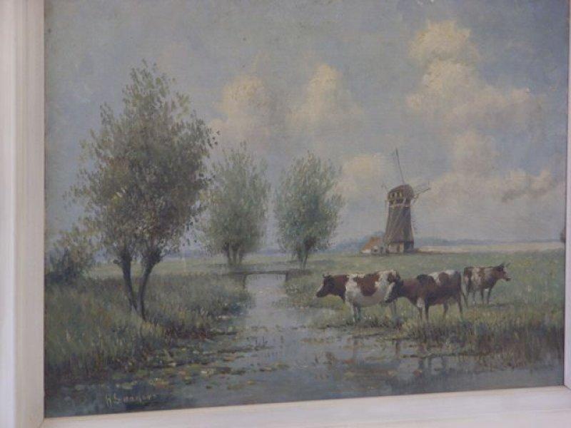 handtekening nederlandse kunstschilders