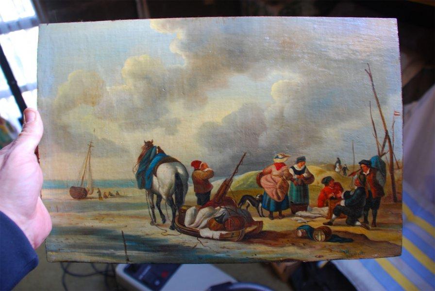 Onbekend schilderij en schilder for Schilder en behanger gezocht