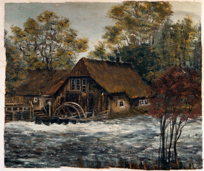 Schilder gezocht voor dit schilderij for Schilder en behanger gezocht